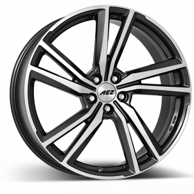 North Dark gunmetal Frontpoliert