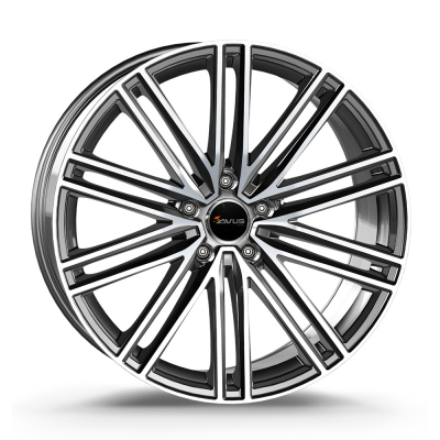 AC-M08 anthracite polished