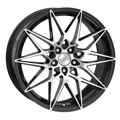 AX9 Competition schwarz poliert