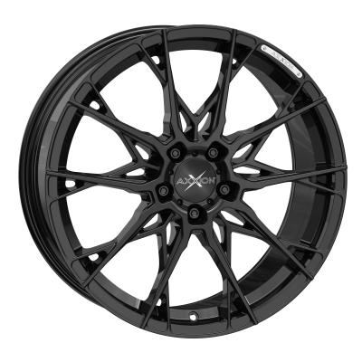 X1 schwarz glänzend lackiert