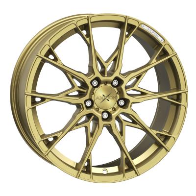 X1 Gold matt lackiert