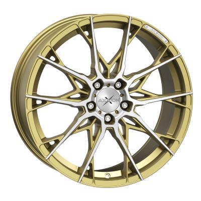 X1 Gold matt poliert