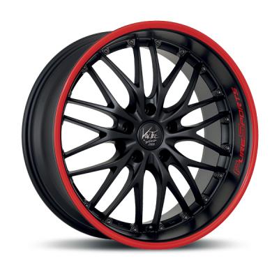 Voltec T6 PureSports Color Trim rot