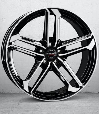 ATX black polished glossy
