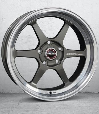 DB8/GT graphite rim polished