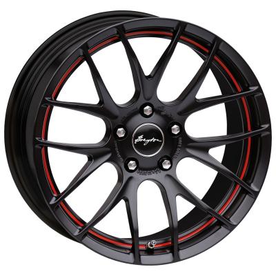GTS-R Matt Black Red