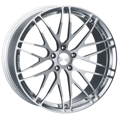 Spirit RS anodized silber