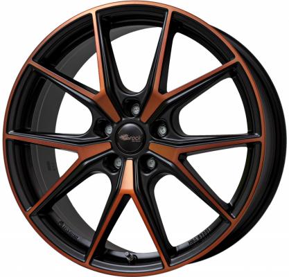 B40 Black Orange matt