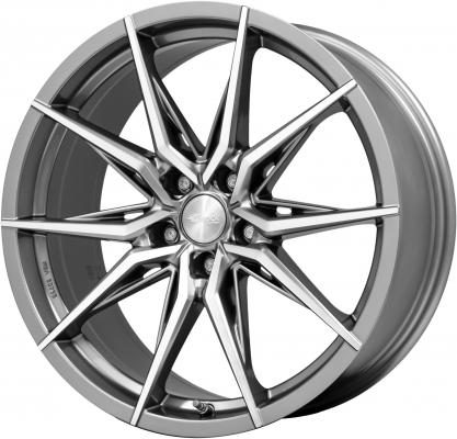 B42 Ferric Grey poliert