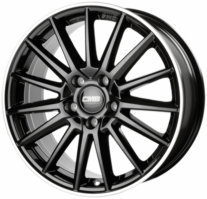 C23 Diamond Rim Black