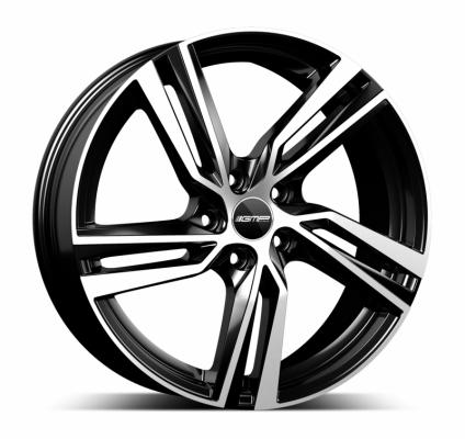 Arcan black polished