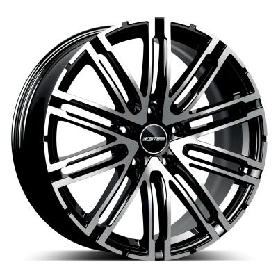 Targa black polished
