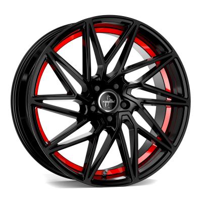KT20 black, red inside