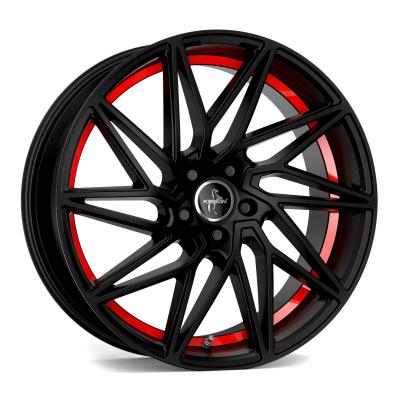 KT20 matt black, red inside