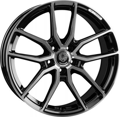 KR1 black polish