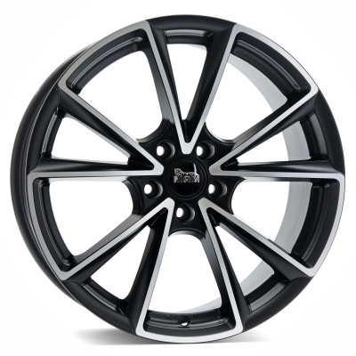 MAM A5 matt black polish