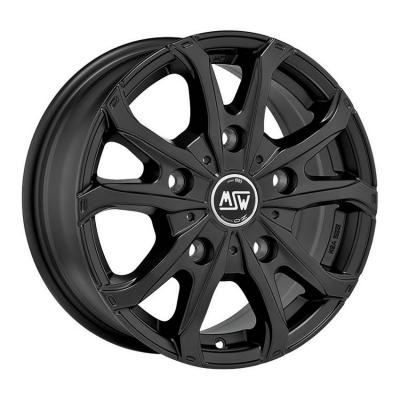 MSW 48 VAN matt Black