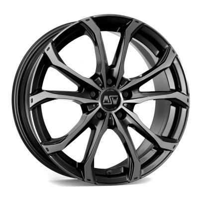 MSW 48 gloss black poliert