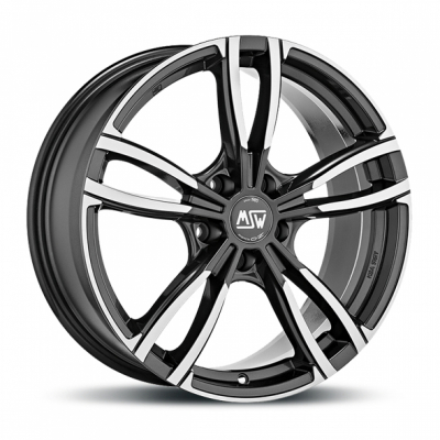 MSW 73 gloss dark grey polish