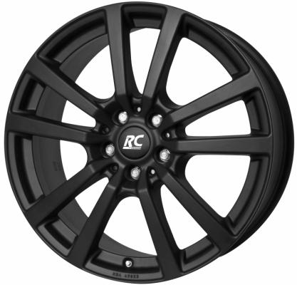 RC25 schwarz klar matt