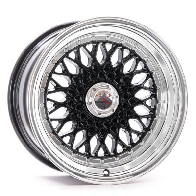 RS1 schwarz hornpoliert