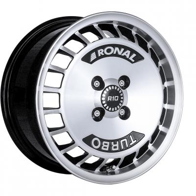 R10 schwarz poliert