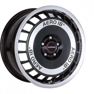 R50 Aero schwarz poliert