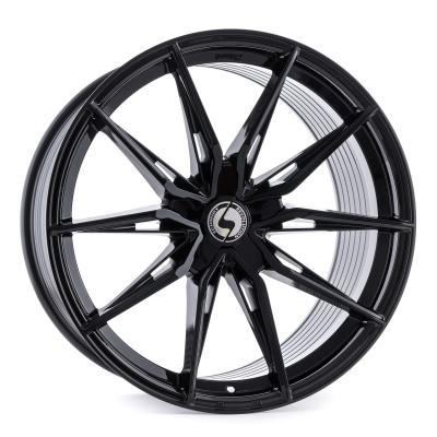 Twenty One Concave 1tlg. Gloss Black