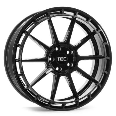 GT8 black glossy, links