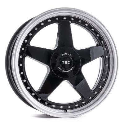 GT Evo-R schwarz Glanz Hornpoliert