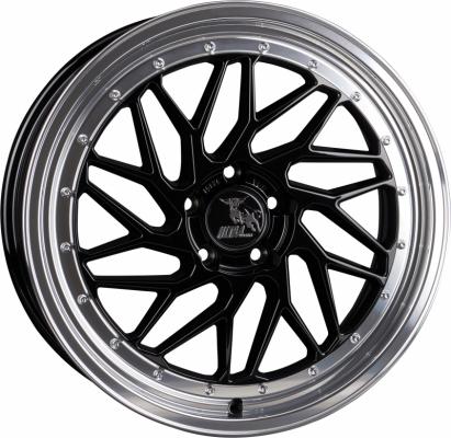 UA14 Spin schwarz poliert