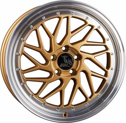 UA14 Spin gold poliert