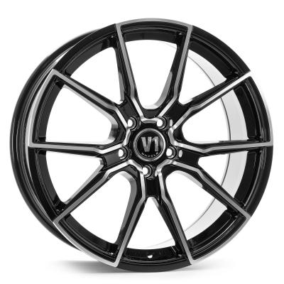 V1 schwarz poliert