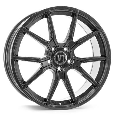V1 Daytona grau poliert