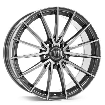 V2 Daytona grau poliert