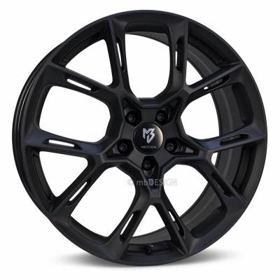 KX1 schwarz stumpfmatt
