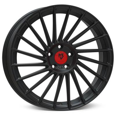 VR3 schwarz stumpfmatt