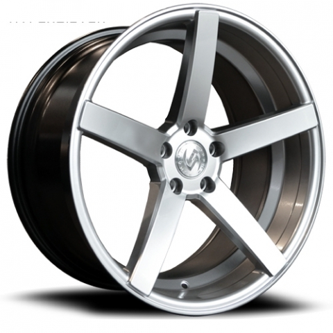 Advance Wheels AV1 silver