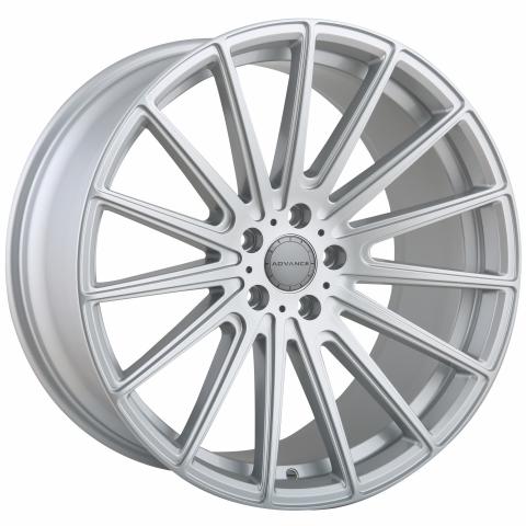 Advance Wheels AV2.1 Deep Concave silber