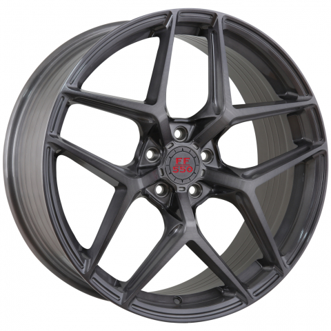 Advance Wheels FF550 Deep Concave Liqued Brushed Metal