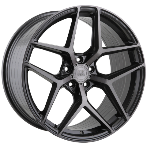 Advance Wheels FF550 Concave Liqued Brushed Metal
