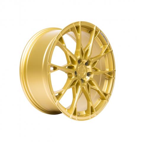 B52 Wheels X1 Reacher Strom gold matt painted