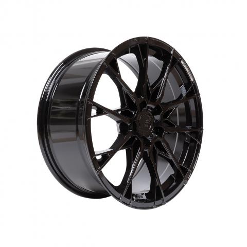 B52 Wheels X1 Reacher Night black glossy
