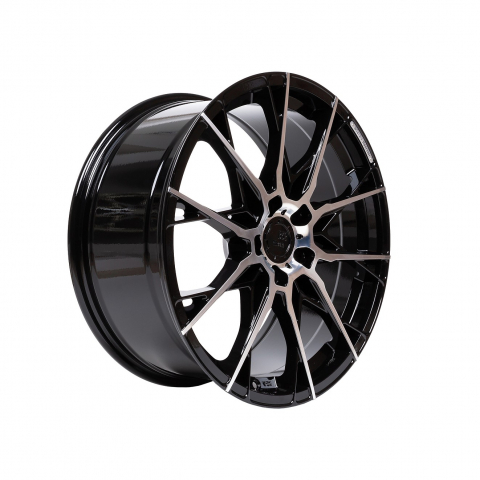 B52 Wheels X1 Reacher Night black Full machined