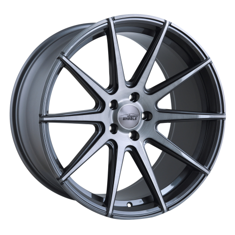 Elegance Wheels E1 Concave Titan Brushed
