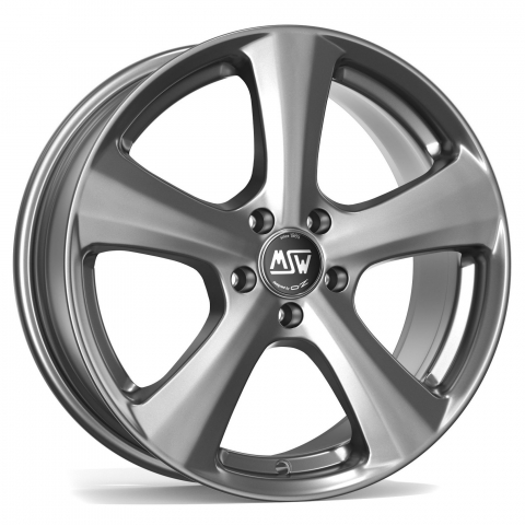 MSW 19 Grey silber