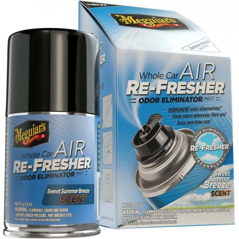 Meguiars Air Re-Fresher Odor Eliminator Summer Breeze