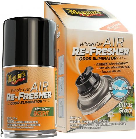 Meguiars Air Re-Fresher Odor Eliminator Citurs Grove
