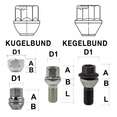 Sternschlüssel-Adapter verzinkt