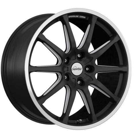 Speedline Corse SC1 Motorismo Racing black-matt-hornkopiert